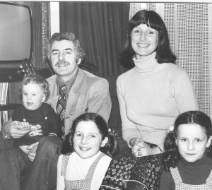 Tom, Marie and family, 1978
